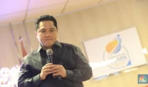 Foto: Menteri BUMN Erick Thohir (CNBC Indonesia/Andrean Kristianto)